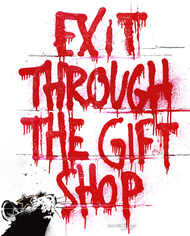 "BANKSY film: ""Exit Through the Gift Shop"""