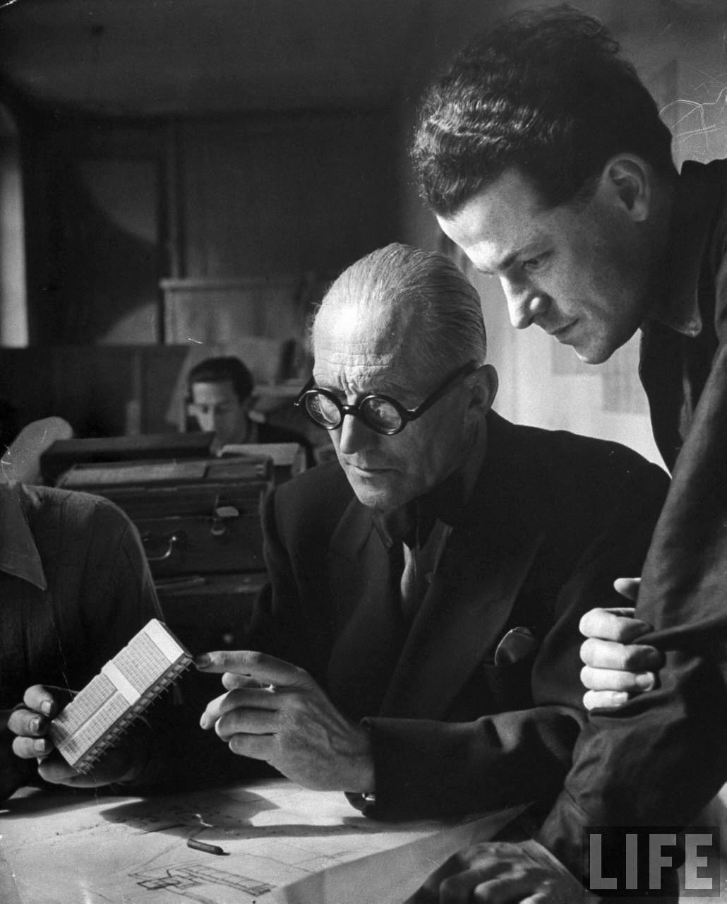 Le Corbusier havde en stemme…