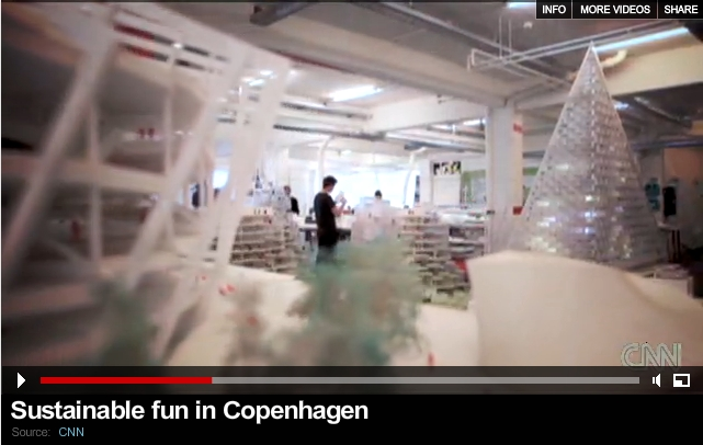 CNN Future Cities: 'Sustainable Fun in Copenhagen'
