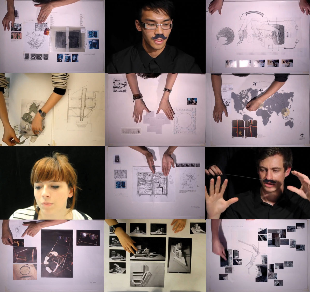 Bartlett School of Architecture – Year one presentations