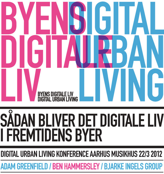 DIGITAL URBAN LIVING – Konference i Aarhus Musikhus d. 22. marts